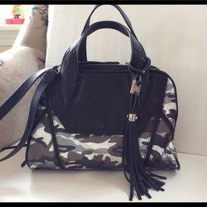 Aimee Kestenberg pebble leather satchel
